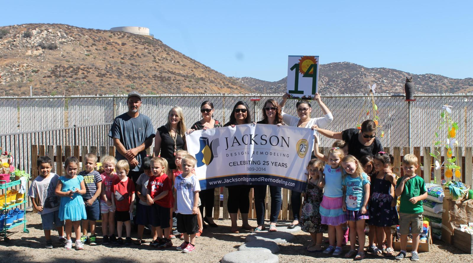 Lee and London Public Relations Client Jackson Design and Remodeling Celebrates 25th Anniversary by Giving Back to San Diego Community in 25 Acts of Giving