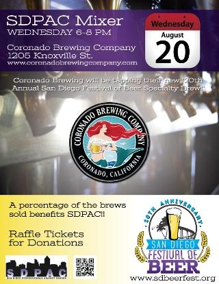 Lee and London Public Relations Client the San Diego Festival of Beer Celebrates 20th Anniversary with Special Coronado Brewing Co. Beer