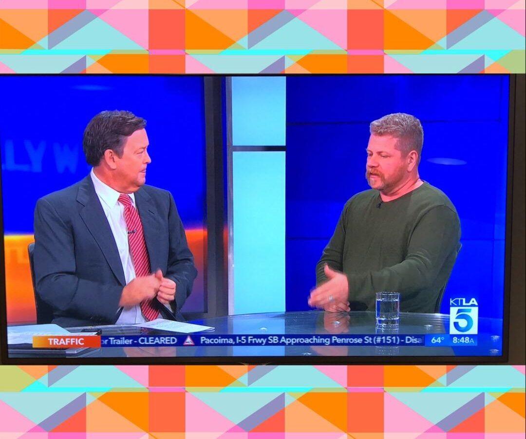 Michael Cudlitz, actor, talks WildAid on KTLA.