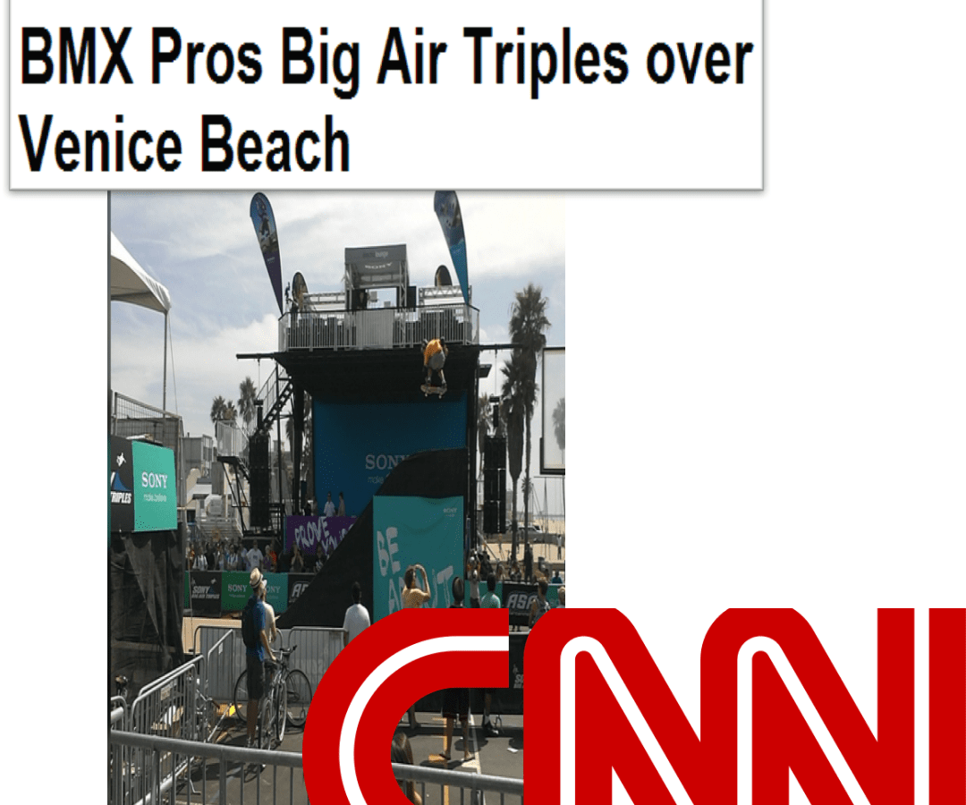 World's Best Skateboard and BMX Pros CNN header