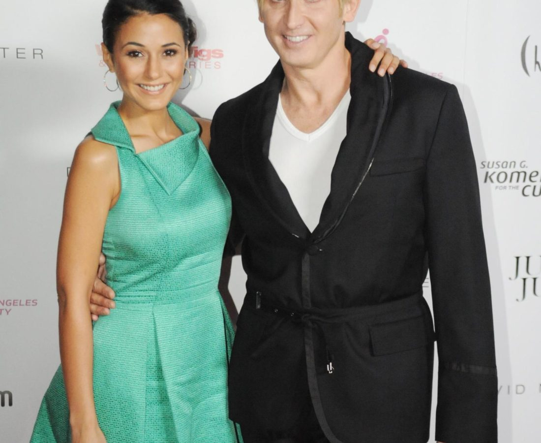 Emmanualle Chriqui and David Meister close up together _credit Neftalie Williams