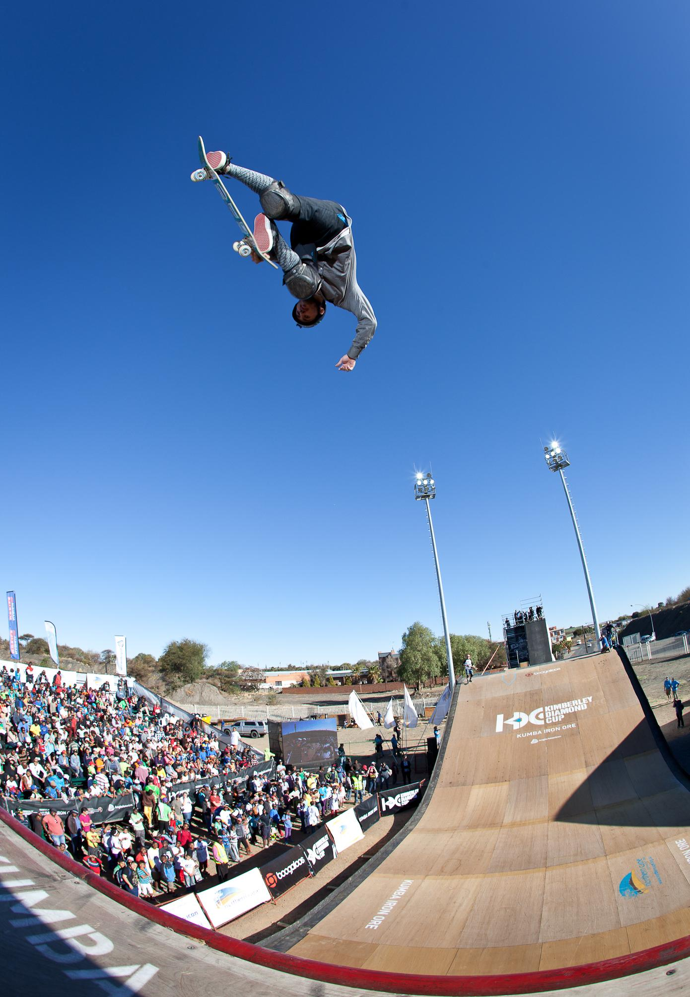 Lee and London Public Relations Client 2014 Skateboarding World Championships at Kimberley Diamond Cup
