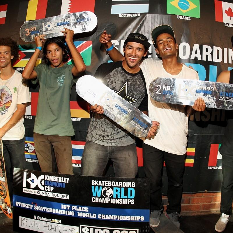 Lee and London Public Relations Client World Skateboarding Grand Prix's Winners at World Skateboarding Championships