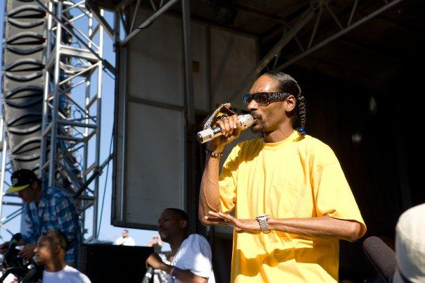 Snoop at Maloof Money Cup