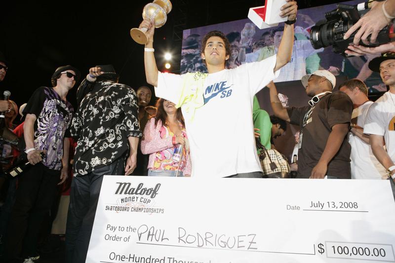 Paul Rodriguez - Maloof Money Cup Awards