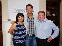 Jeff Lewis at opening of Home Expressions