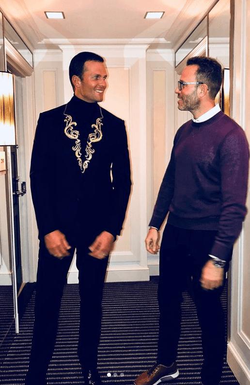 Andrew Weitz & Tom Brady