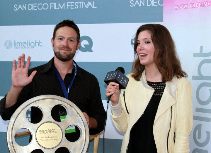 SD film festival photo op
